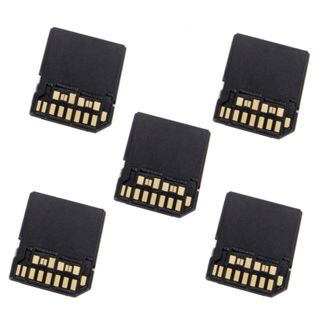 5pcs UHS-II 4.0 Micro-SD SDHC SDXC TF Card to SD SDHC SDXC Card Adapter Kit